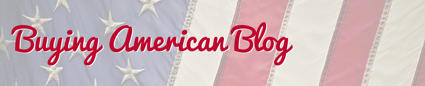 Buying American Blog